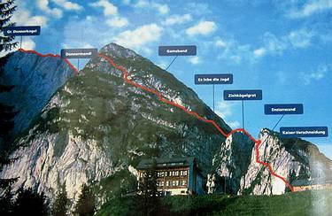 Klettersteig Gosau : Fotogalerie tourfotos fotos zur klettersteig tour