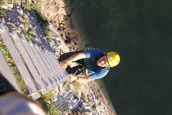 Klettersteig Himmelsleiter : Pidinger klettersteig auf den hochstaufen