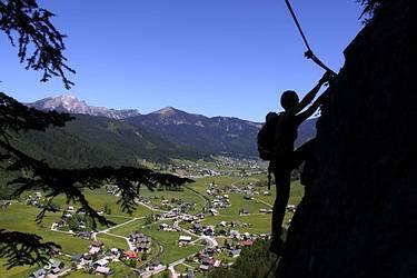Klettersteig Gosau : Gosaunet at klettern in gosau